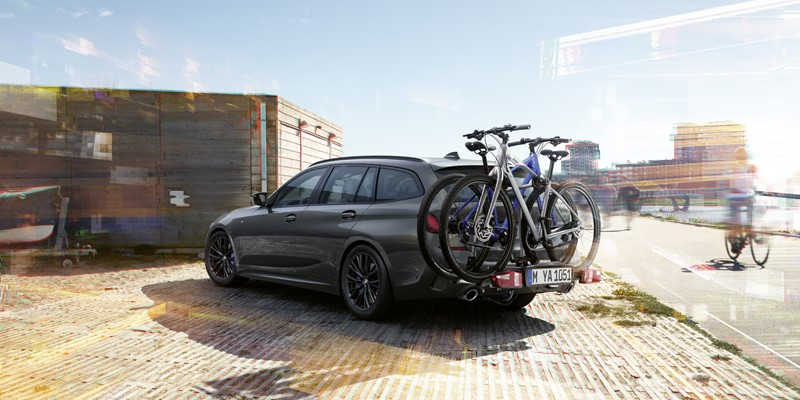 BMW Travel accessories, lloyd, roof bars, roof box, bicycle holder, internal storage