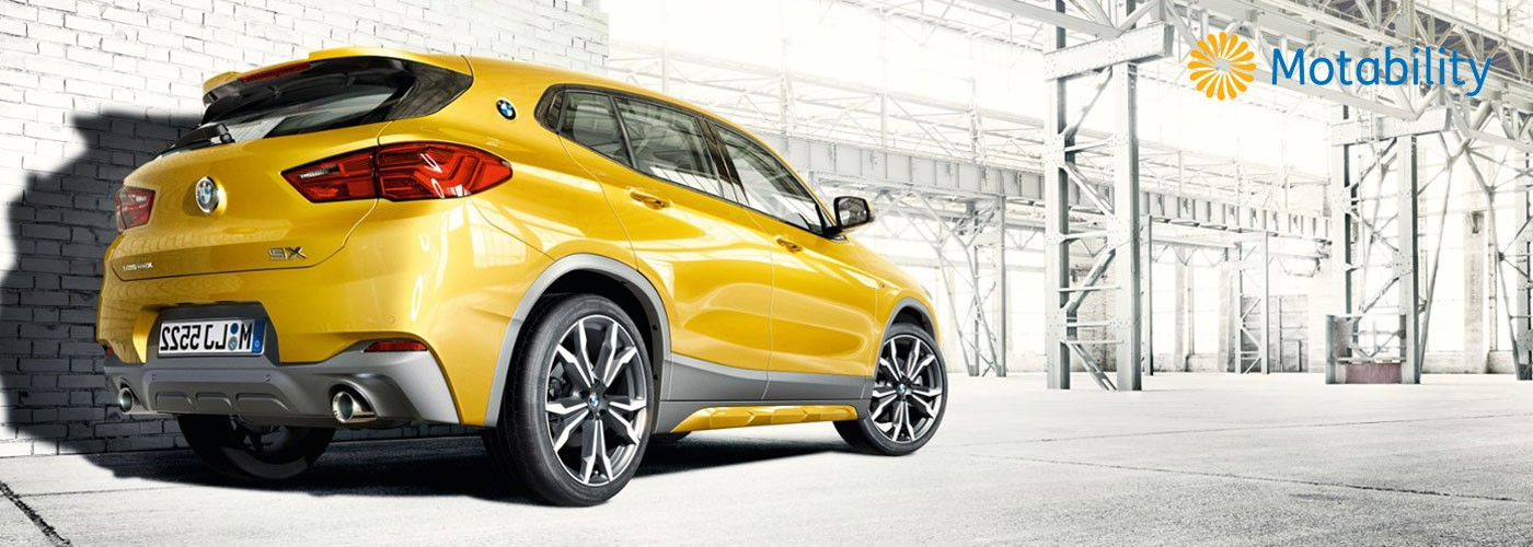 BMW X2 now available on the Motability Scheme