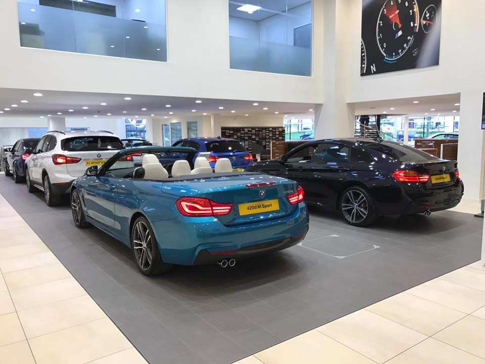 BMW 420d Sport at Carlisle BMW.