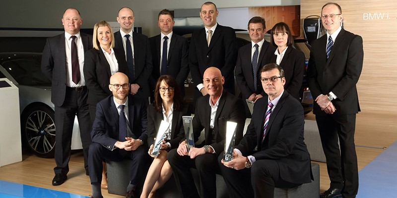BMW Newcastle Awarded Retailer Of The Year