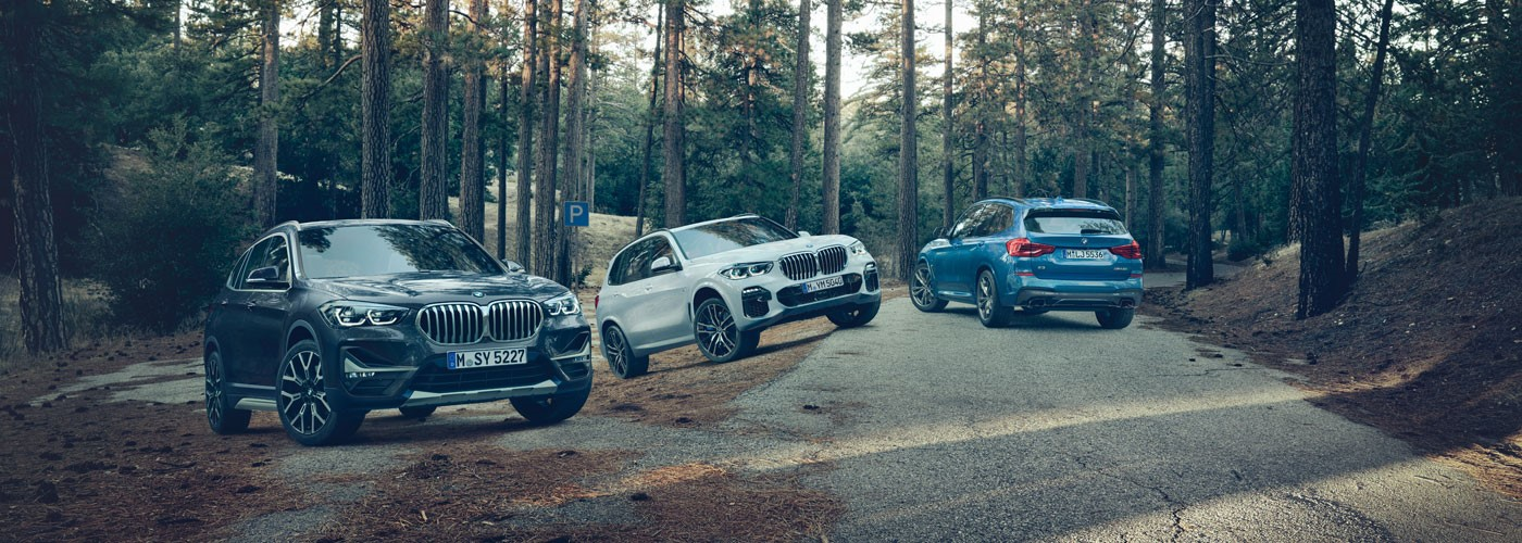 BMW X Range Event. Friday 1 - 3 November.