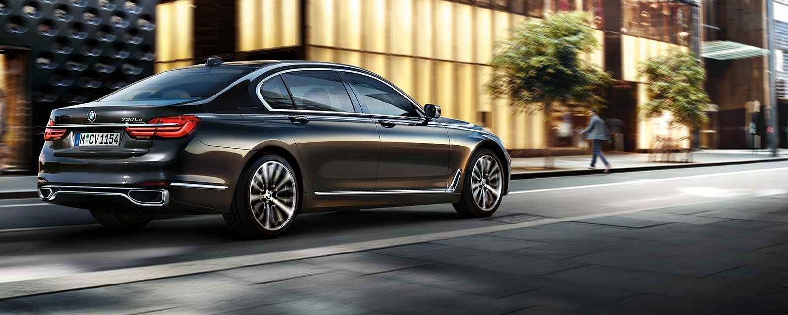 BMW 7 Series - Powerful yet understated.