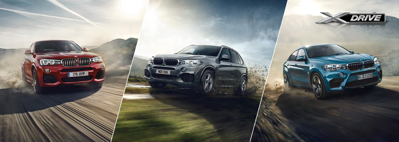 X4, X5 and X6 - 0% APR now available.