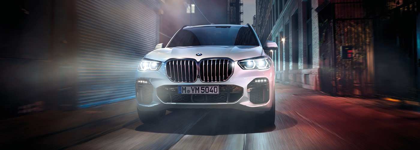 The new BMW X5 - Know you can