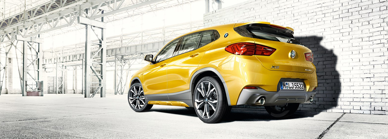 New BMW X2 - Be the one who dares.
