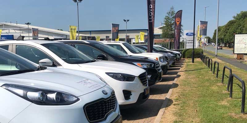 Lloyd used car centre lineup