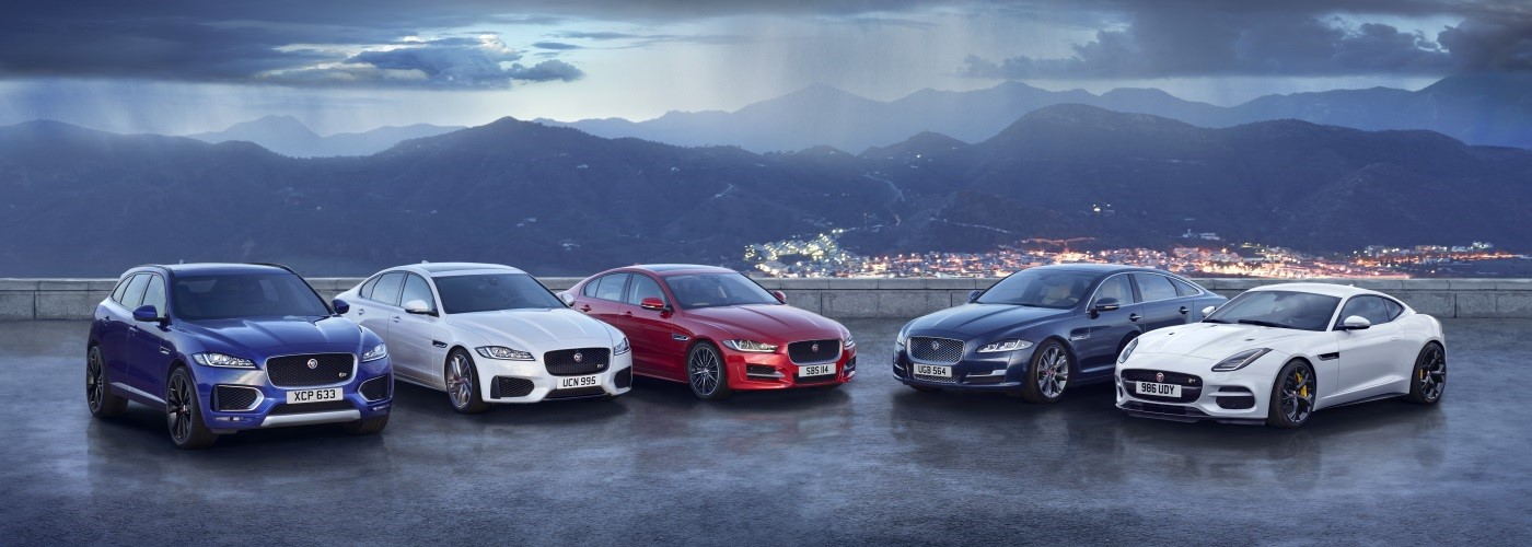 The Jaguar Range See our exclusive offers