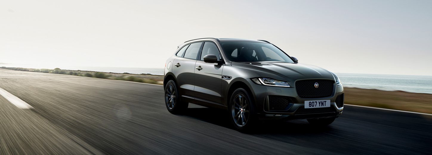 Jaguar F-PACE Chequered Edition