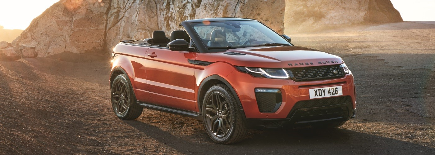 Range Rover Evoque Convertible Perfect for this summer