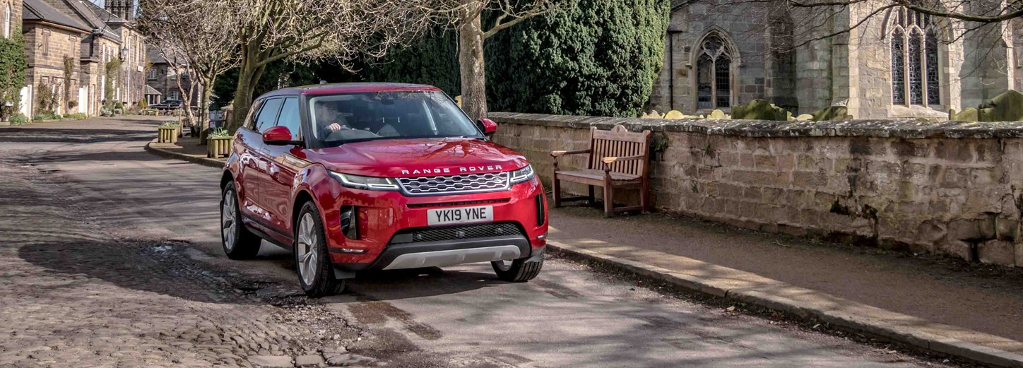 The new Range Rover Evoque. From £279 per month