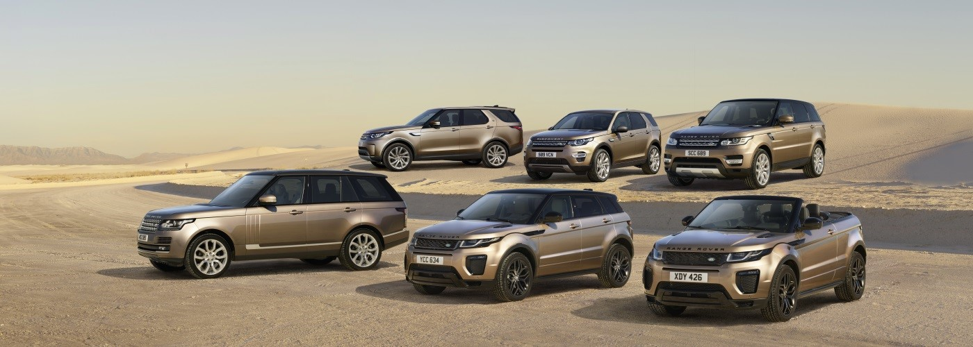 The Land Rover Range See our exclusive offers