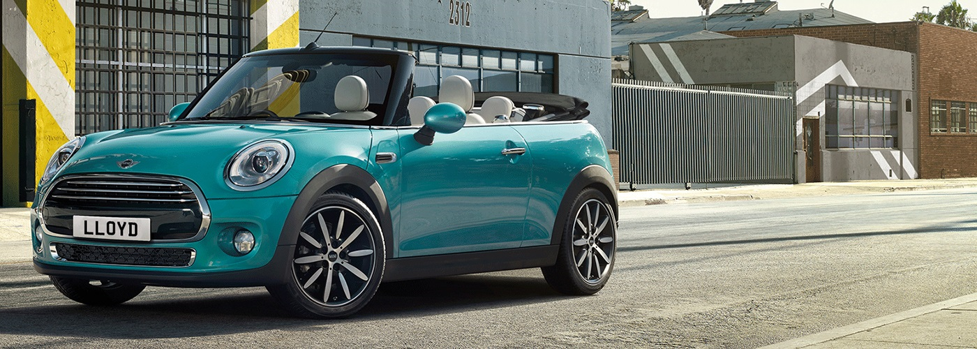 Make it a summer to remember... The MINI Convertible from £218 per month