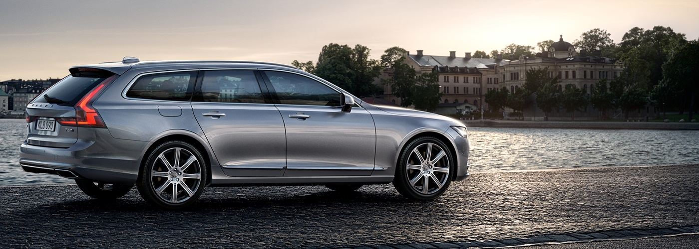 The Volvo V90 luxury estate