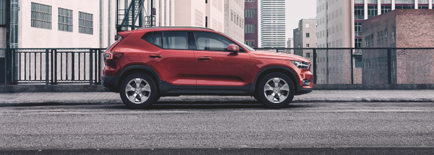 Volvo XC40 from £299 per month