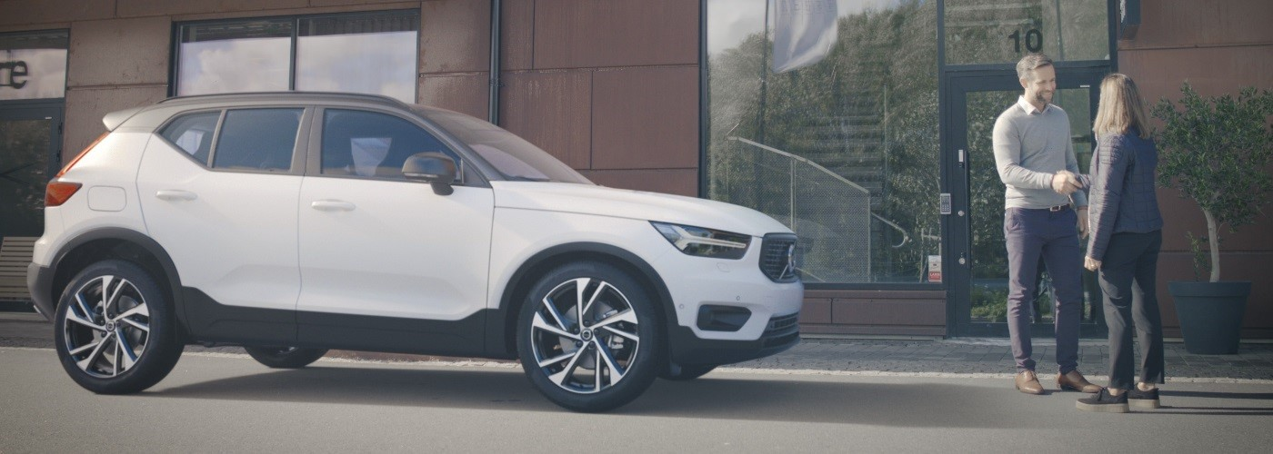 The New Volvo XC40 Introducing the compact SUV. With love from Sweden.