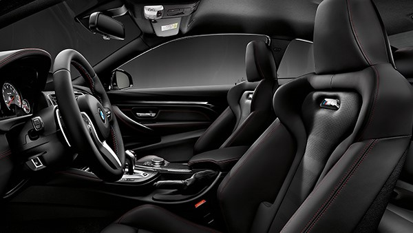 M4 Coupe interior seats 2