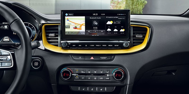 kia, new, x, ceed, xceed, entertainment, dashboard