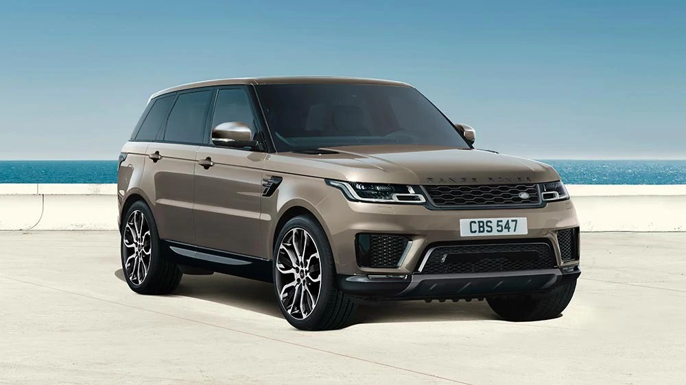 range rover sport HSE silver, special edition land rover