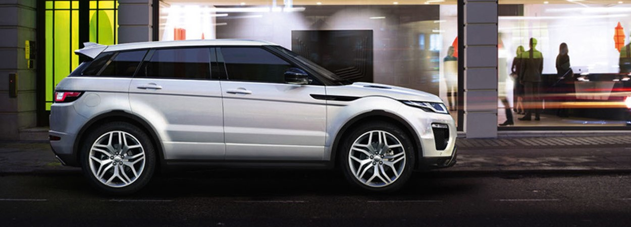 Land Rover Evoque side view