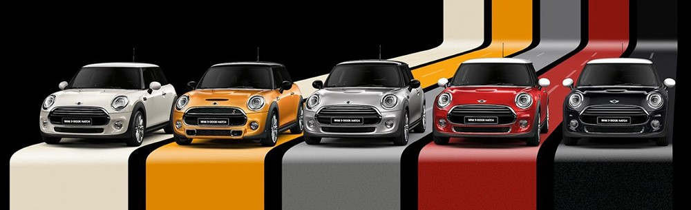Do your MINI Bodywork justice with a choice of 8 metallic paints