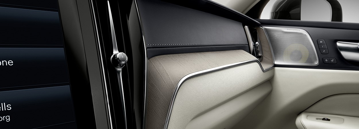 New Volvo XC60 interior close up