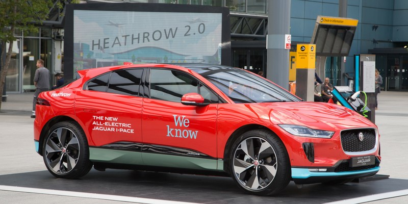 Jaguar I-PACE is the Star of Heathrow's New Zero-Emissions