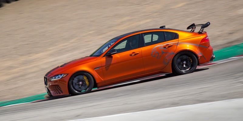 Jaguar XE SV Project 8 confirms status as the world's fastest production sedan with a new lap record in the USA