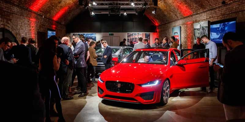 Jaguar cars, XE, preview