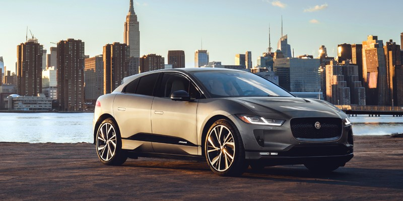jaguar, I-Pace, award, new, green, car, 2019