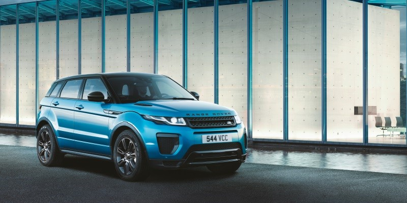 News Headline Jaguar Eange Rover Evoque LE