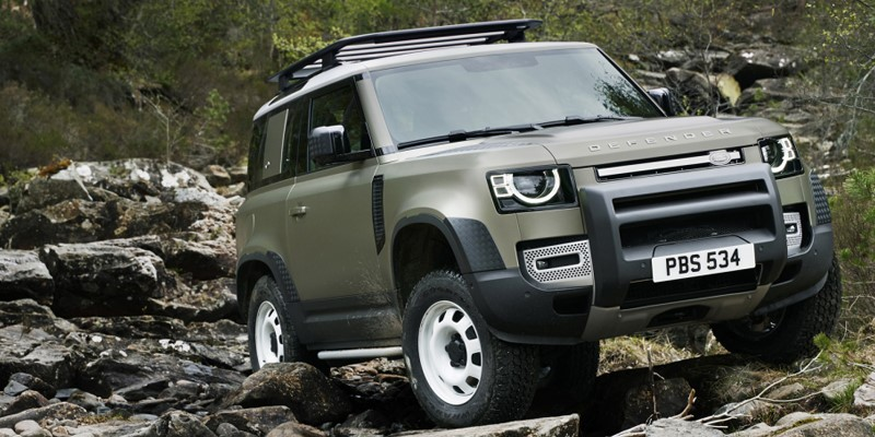 new, land, rover, defender, 21st, century, off, road