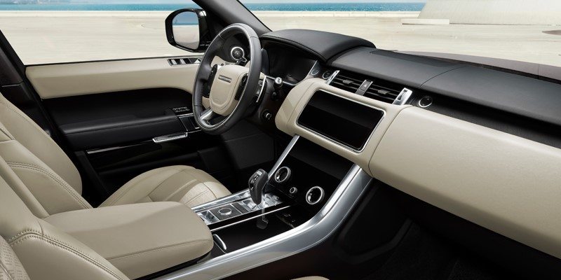 land rover, range rover sport special edition, interior