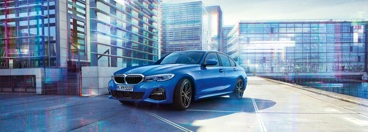 BMW 3 Series. £399 Per Month I £2999 Deposit. 4.9% APR.