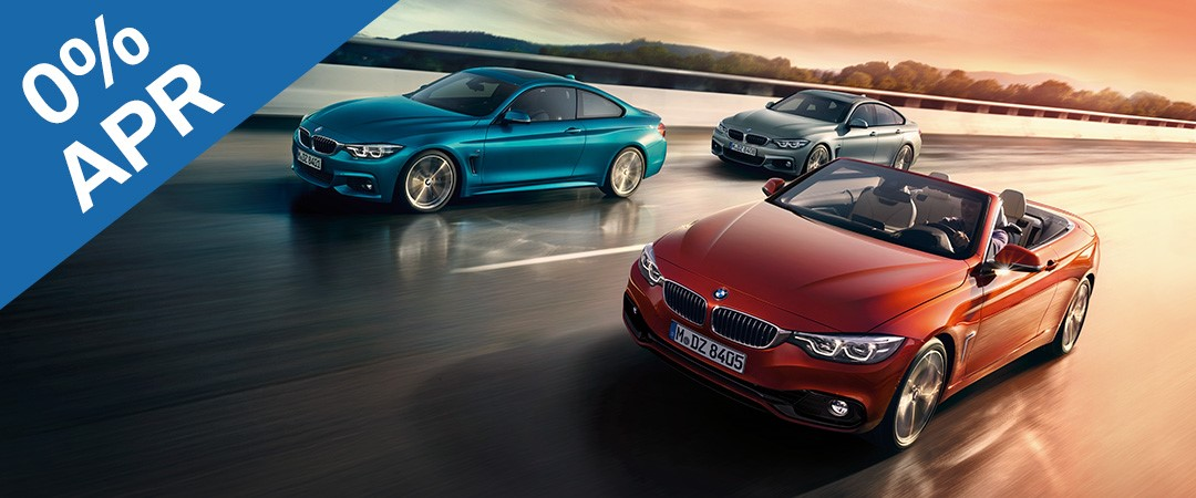 The BMW 4 Series Range from £379 deposit & £379 per month. 0% APR.