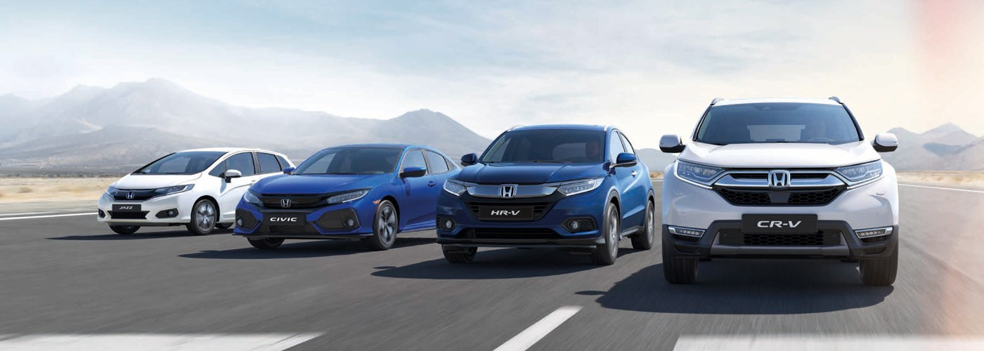 View our Nearly New Honda Offers