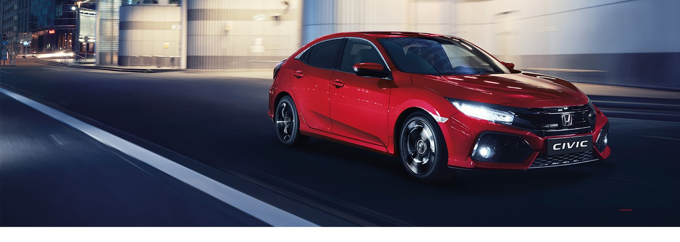 Honda Civic £209 per month