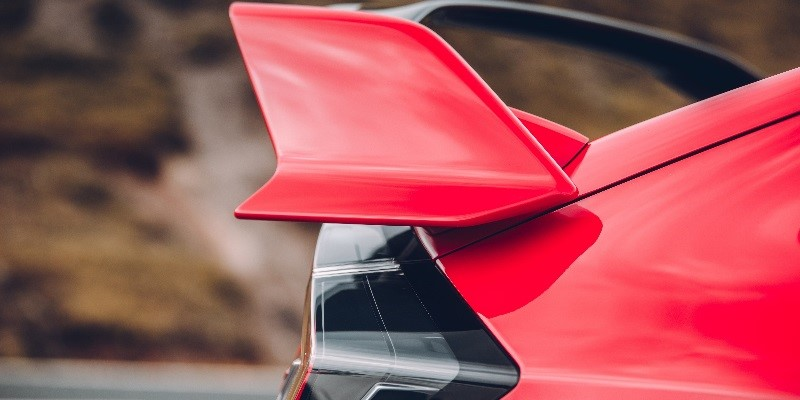 New Honda Civic Type R Spoiler