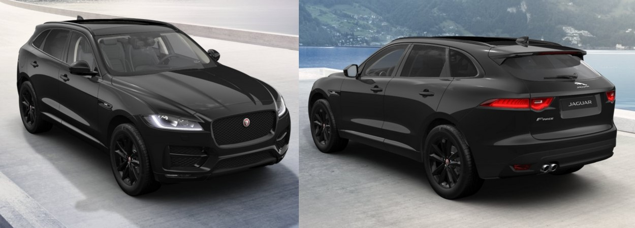 jaguar offer jaguar f pace r sport black edition lloyd motor group. Black Bedroom Furniture Sets. Home Design Ideas