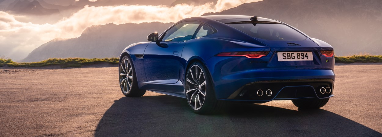 new, jaguar, f-type, sports, car, coupe