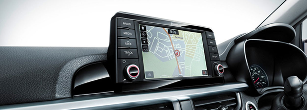 Kia-Picanto-Navigation-System-with-7-inch-Floating-Touchscreen
