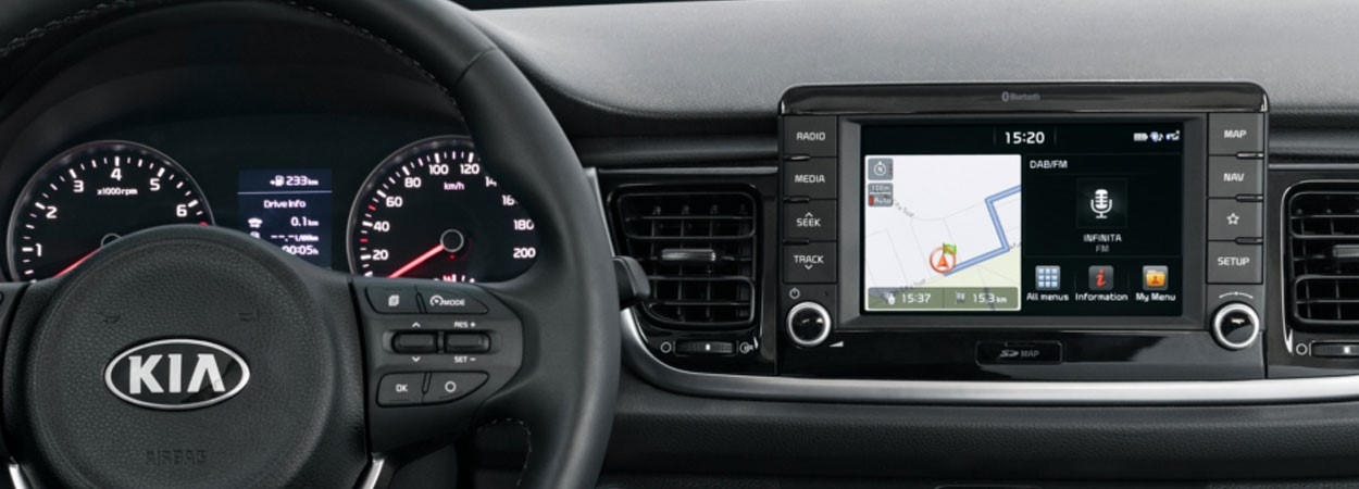 Kia-Rio-7-inch-Touchscreen-Satellite-Navigation
