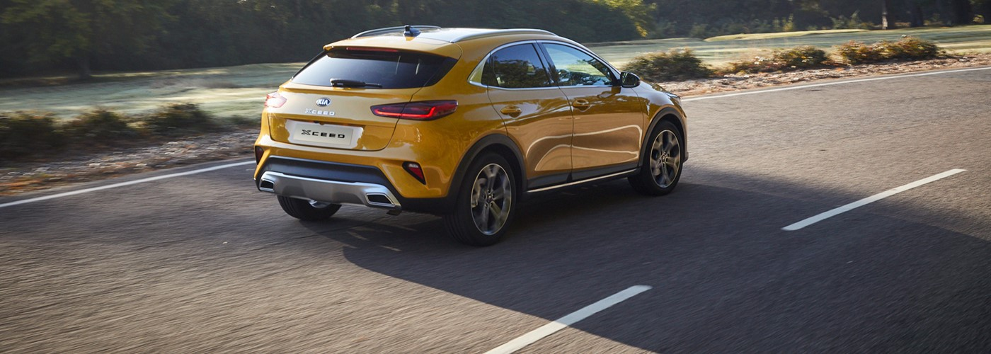 All-New Kia XCeed from £183 per month