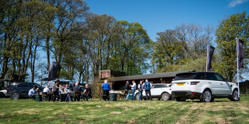 Sunday, 10th May 2018 Lloyd Land Rover Carlisle held an off-road event at Greystoke Castle, Penrith. The off-road track helped to showcase what sets Land Rover apart from the other 4x4's.