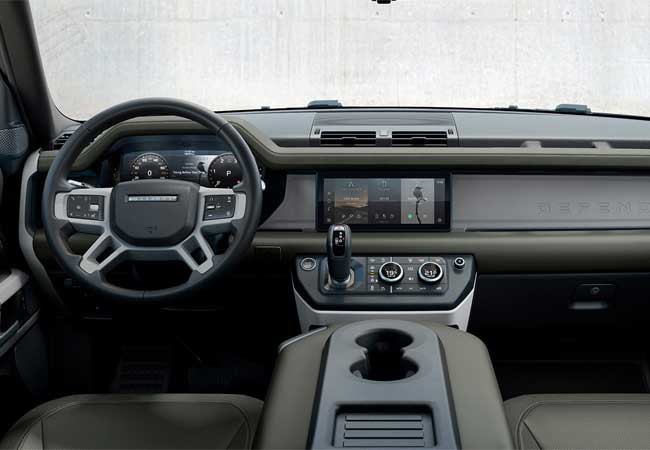 land rover, defender, 4x4, tecnology, new, world first, pivi pro, infotainment, streaming, 2020