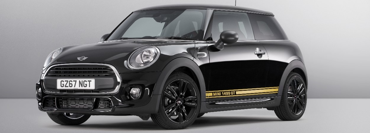 MINI Ready. Fuel. Go. The MINI 1499 GT Edition 3 Door Hatch with 1 year's inclusive insurance.