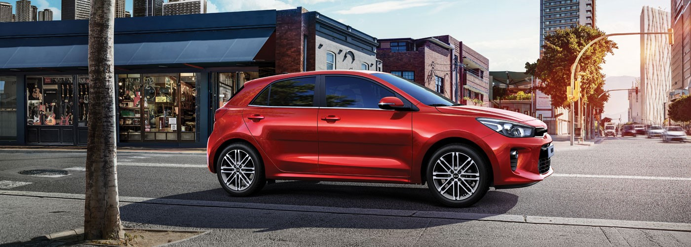 Kia Rio from £176 per month