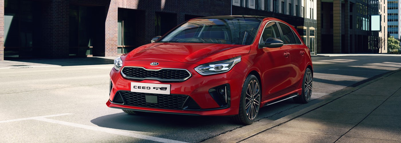 All-New Kia Ceed from £228 per month