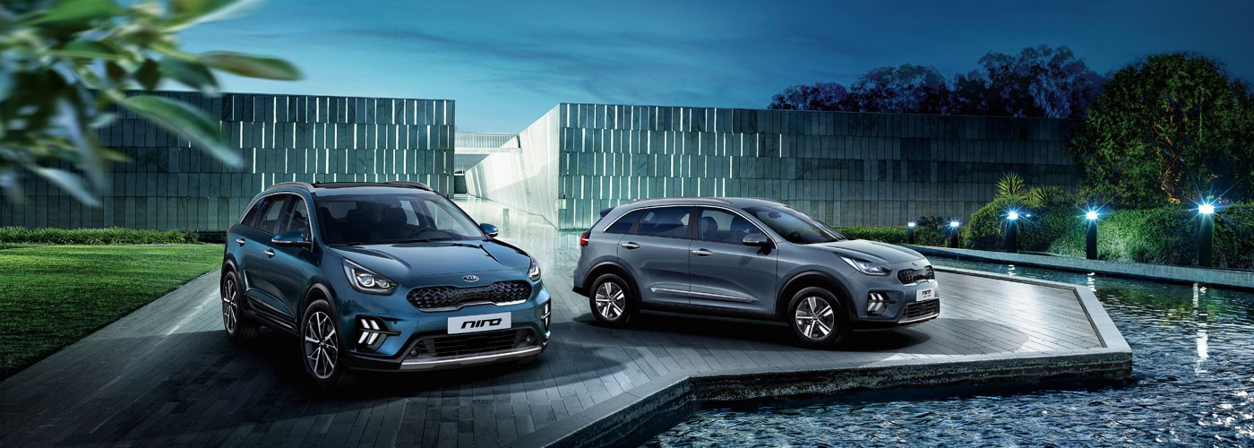 New Kia Niro Self-Charging Hybrid from £298 per month