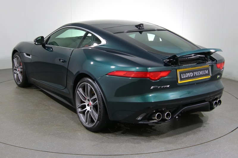 Used Jaguar F Type R 5.0 V8 Supercharger Coupe Automatic