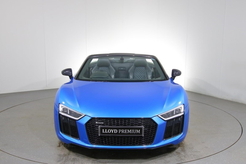 Used Audi R8 Spyder 5.2 V10 Quattro S Tronic Automatic